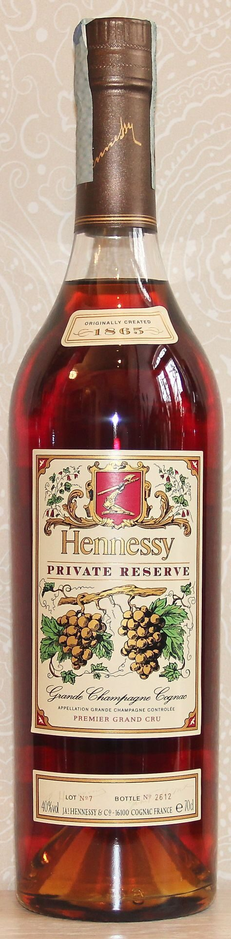Hennessy Private Reserve 1865 2004