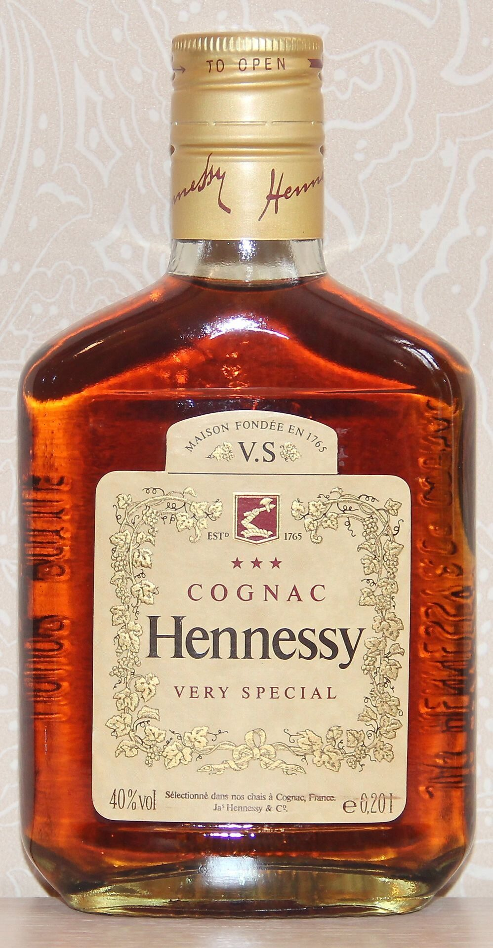 Hennessy VS Flask 0,2L