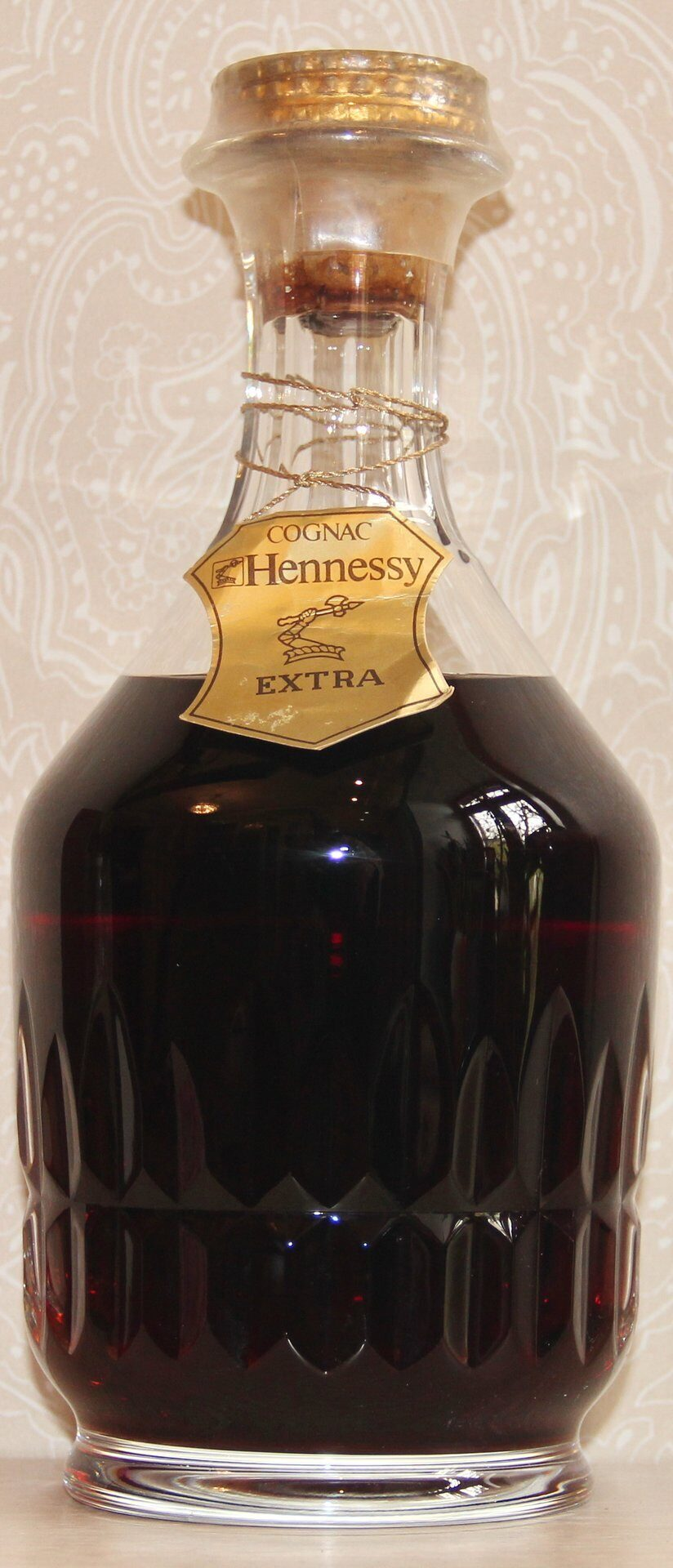 Hennessy Extra Baccarat 1960s
